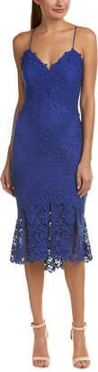 Nicole Miller Artelier Silk-Blend Sheath Dress