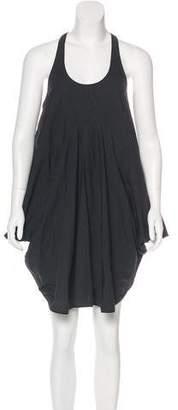 Hache Asymmetrical Mini Dress