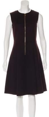 Rochas Wool and Angora-Blend Dress w/ Tags