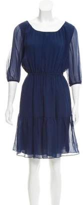 Diane von Furstenberg Silk A-Line Dress