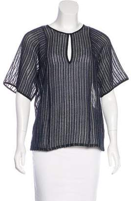 A.L.C. Knit V-Neck Top