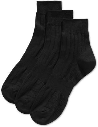 Perry Ellis Men's 3-Pk. Mid-Crew Socks