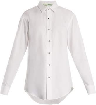 Off-White Point-collar cotton shirt