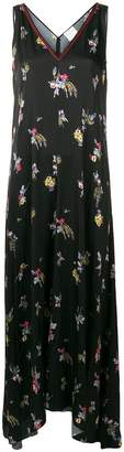 Forte Forte floral embroidered maxi dress