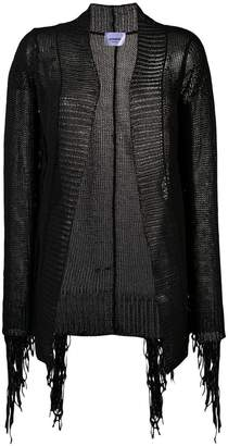 Dondup fringed open knit cardigan