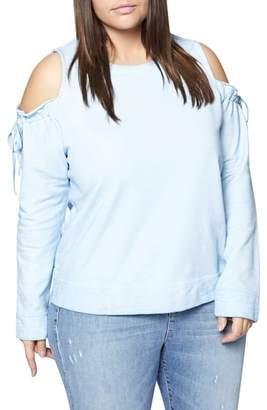 Sanctuary Parkside Cold Shoulder Sweatshirt