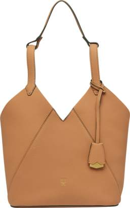 MCM Dessau Tote In Grained Leather