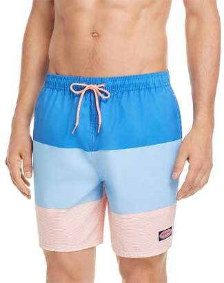 Vineyard Vines Island Stripe Chappy Swim Trunks