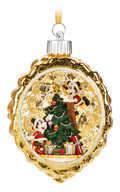 Disney Santa Mouse Light-Up Ornament