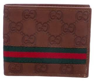 Gucci GG Web Bifold Wallet