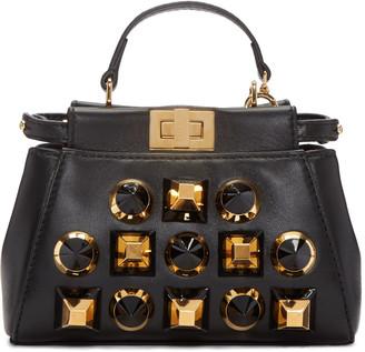 Fendi Black Micro Peekaboo Bag $1,995 thestylecure.com