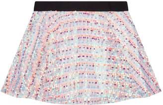 Milly Mini Sequin Skater Skirt