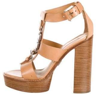 c8a67ed82be5 Michael Kors Embellished Women s Sandals - ShopStyle