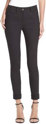 St. John Stretch Denim Slim Capri Bardot Jeans