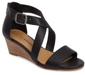 Women's Lucky Brand Jenley Wedge Sandal $78.95 thestylecure.com