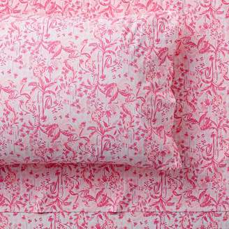 Pottery Barn Teen Lilly Pulitzer In The Swing Of Things Pillowcases, Set of 2, Hotty Pink