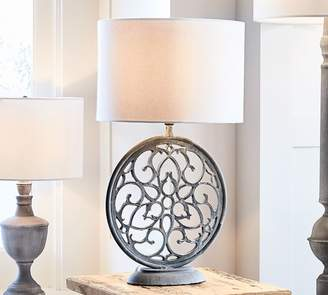 Pottery Barn Brookings Round Table Lamp