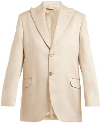 Acne Studios Jaria oversized satin-twill blazer