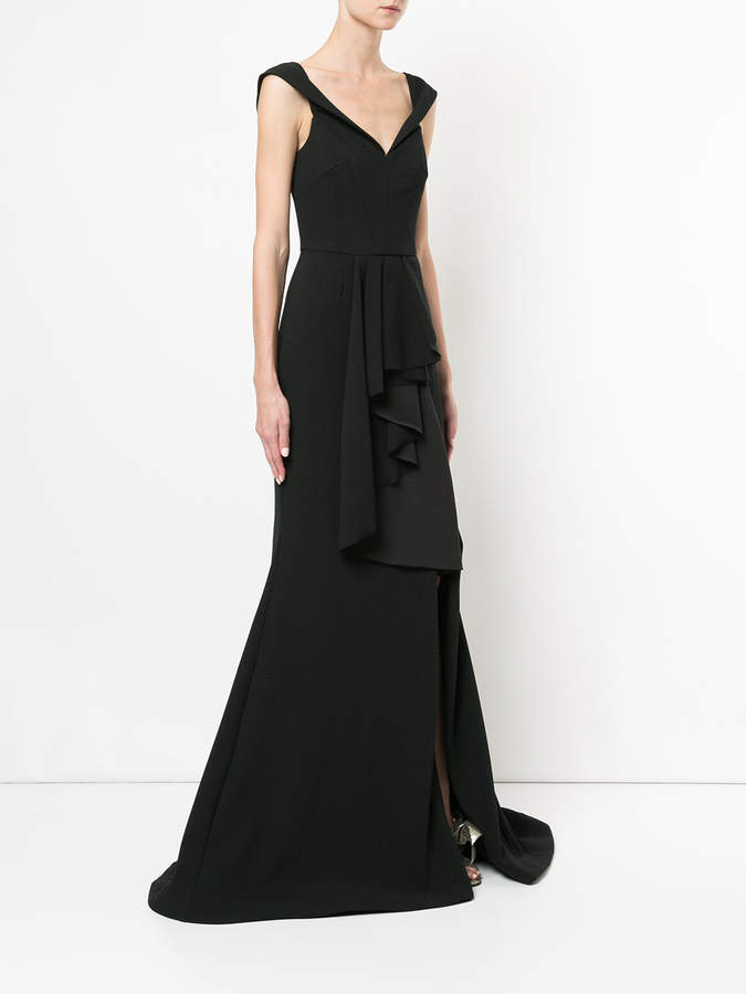Rebecca Vallance St. Barts gown dress