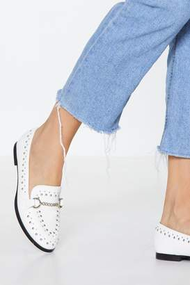 Nasty Gal Stud Out Studded Loafer