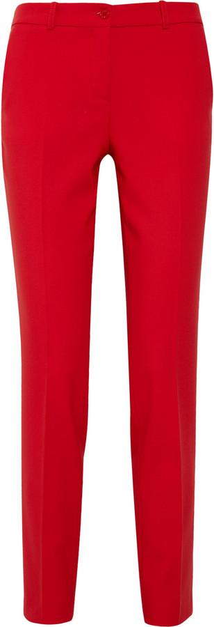 Michael Kors Samantha stretch wool-blend pants