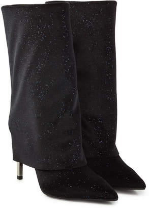 Balmain Babette Leather Knee Boots