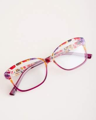 Chico's Chicos Red Multi-Print Reading Glasses