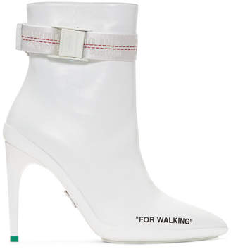 Off-White White For Walking Ankle Boots