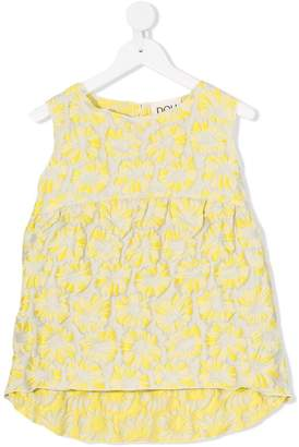 Douuod Kids floral textured blouse