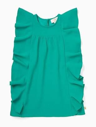 Kate Spade Toddler cascading ruffles dress