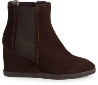 Aquatalia Weatherproof Suede Wedge Boots