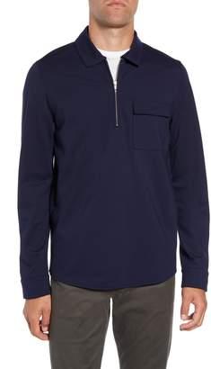 Calibrate Pocket Zip Jersey Polo