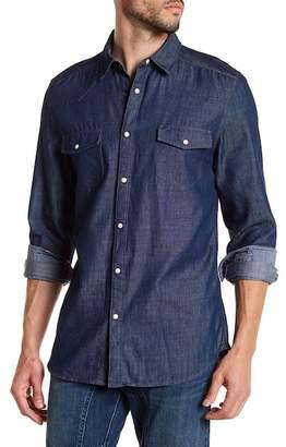 Gilded Age Whyatt Denim Chambray Tapered Fit Shirt