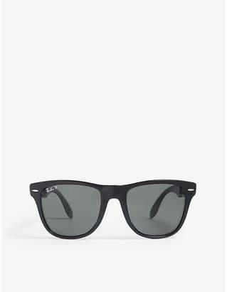 Ray-Ban RB4105 foldable Wayfarer sunglasses