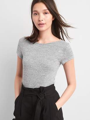 Gap Softspun Short Sleeve Ballet-Back T-Shirt