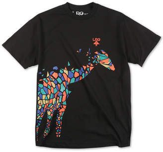 Lrg Men Abstract Giraffe Logo Graphic T-Shirt