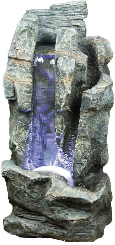 EEK A+, LED-Außen-Brunnen 46cm 6-flammig