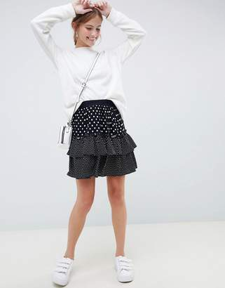 Minimum Moves By polka dot skirt