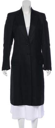 Ann Demeulemeester Notch-Lapel Long Coat