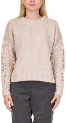 Essentiel Recall Pearls Cable Sweater