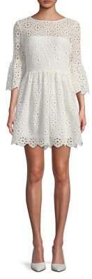 BB Dakota Bell-Sleeve Day Dress