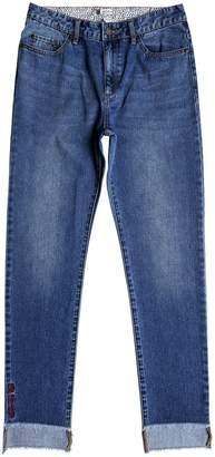 Roxy Womens Lostmyhead Jeans, 31, Retro Blue