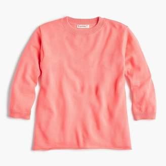 J.Crew Girls' merino wool popover sweater