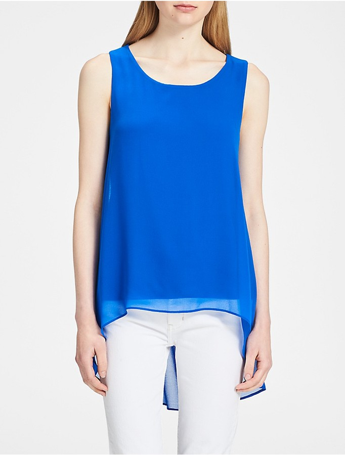 calvin klein womens tops for less