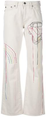 Mira Mikati Venice Beach jeans