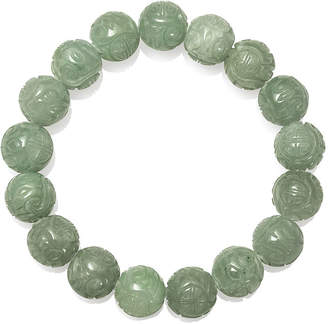 FINE JEWELRY Green Jade Stretch Bracelet