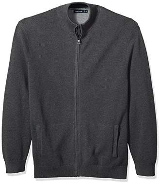 Nautica Men's Zip Front Track Jacket