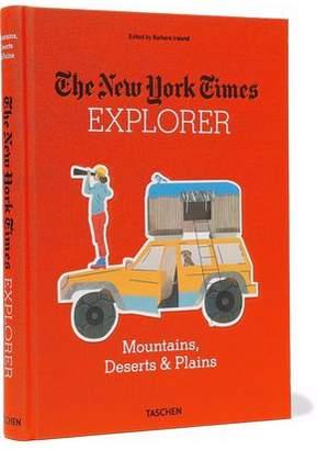 Taschen New York Times Explorer: Mountains Deserts & Planes Hardcover Book