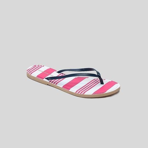 Tommy Hilfiger Striped Footbed Flip Flop