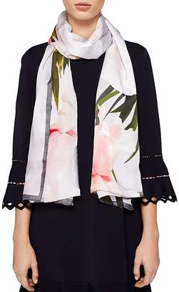 Ted Baker Caniaa Chatsworth Bloom Silk Scarf